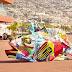 arte com lixo de Bordalo II