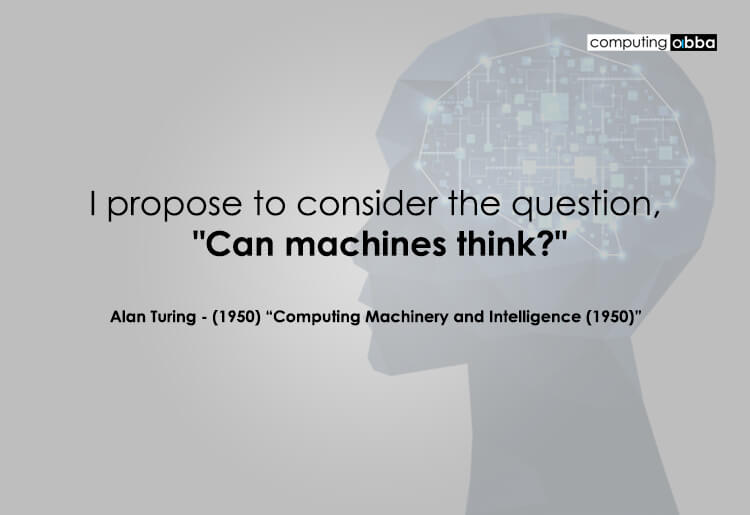 Alan Turing - Can Machines Think?