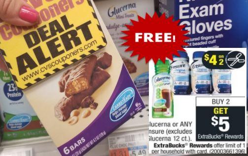 FREE Glucerna Mini Treats CVS Deals 8-30 to 9-5