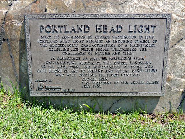 Placa del 350 Centenario del Área Metropolitana de Portland