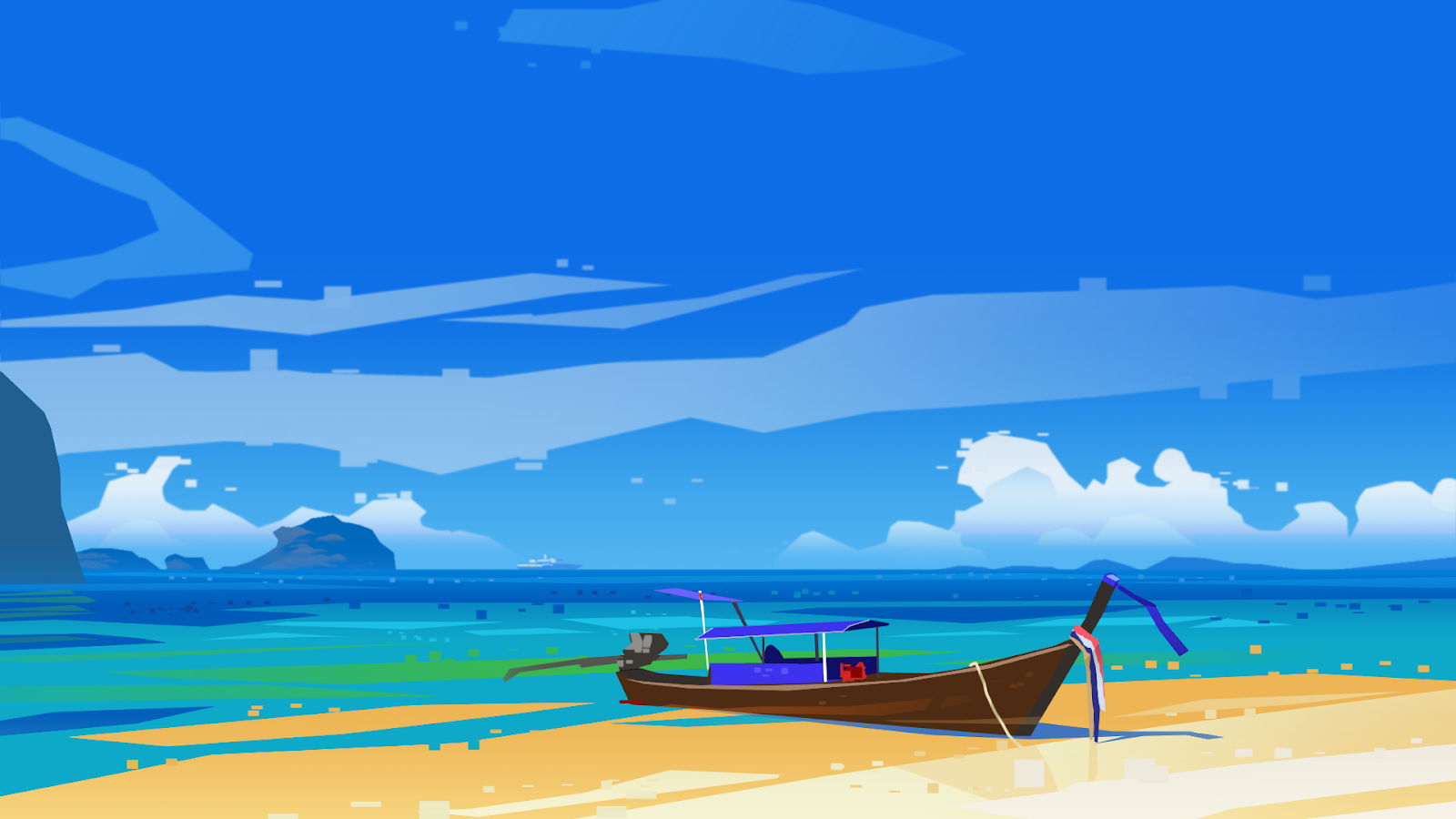 #minimalist #beach #wallpaper #desktop