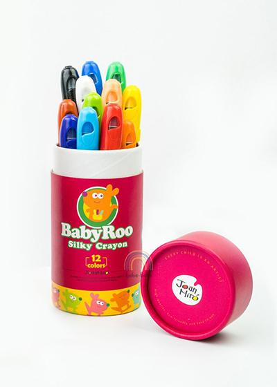silky non-toxic crayons