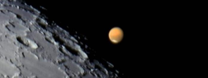 Ocultação de Marte