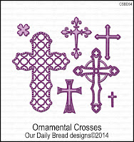 Our Daily Bread designs Ornamental Crosses Dies