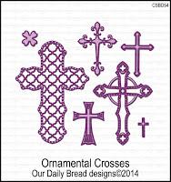 Our Daily Bread designs Ornamental Crosses Dies