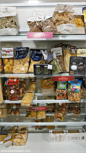 Pasta Italiana en el Home Goods de Boston durante la Crisis del Coronavirus (11-03-20)