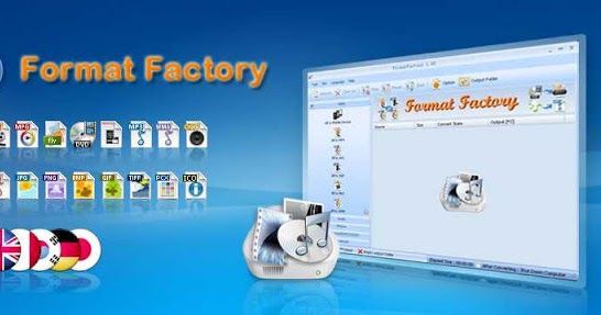 Format Factory - Multimedia transcoder for windows