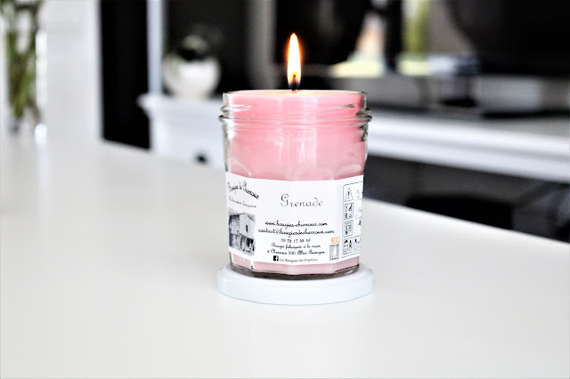 les bougies de charroux grenade avis, bougie grenade les bougies de charroux, bougie charroux grenade, grenade les bougies de charroux, bougie parfumée, bougie de charroux, charroux bougies, bougie parfumée naturelle, candles, candle review, scented candle, avis les bougies de charroux, bougie en cire végétale, meilleure marque de bougie parfumée, les bougies de charroux