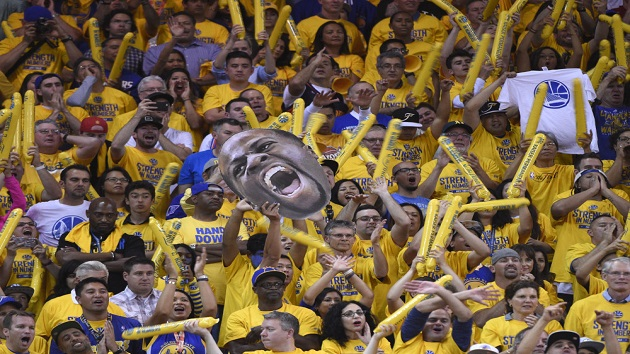 Dubnation Fans Golden State Warriors