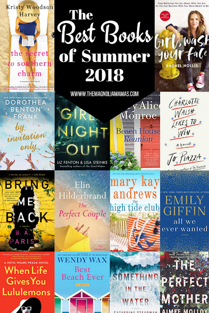 The Best Books of Summer 2018. Best beach reads of 2018. A great list for any kind of reader to pack on vacation. Great vacation reads!
