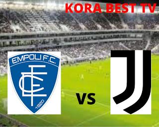 مشاهدة مباراة يوفنتوس وامبولي بث مباشر اليوم 28-8-2021