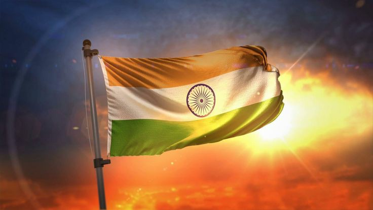 Happy Independence Day flag image