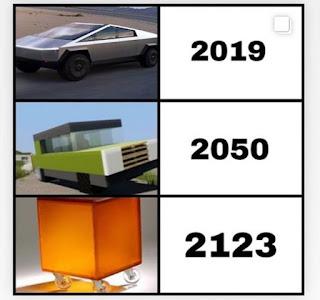 Tesla CyberTruck Meme by @why.him.hunter.steffen on Instagram