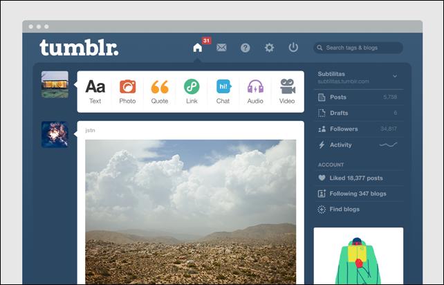 كيفية إنشاء مدونة احترافية بسهولة على منصة Tumblr الاجتماعية
