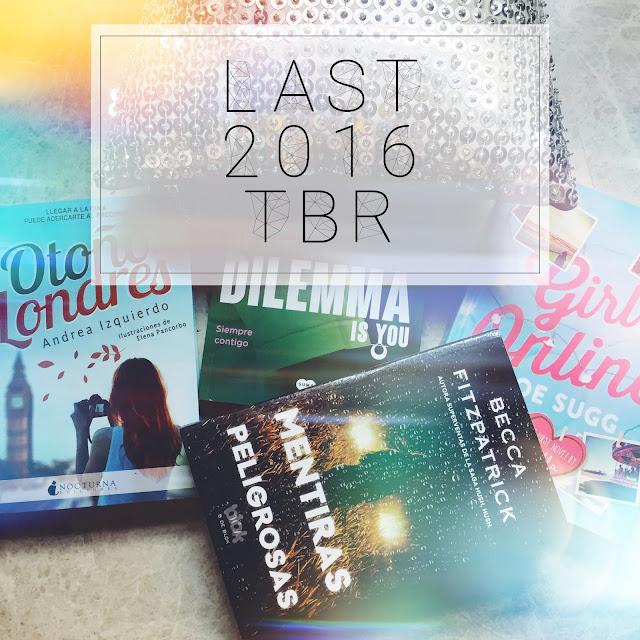 Libros que leer antes de que empiece 2017 | GOODREADS CHALLENGE