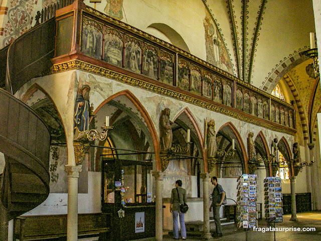 Heiligen-Geist Hospital, albergue medieval em Lübeck, Alemanha