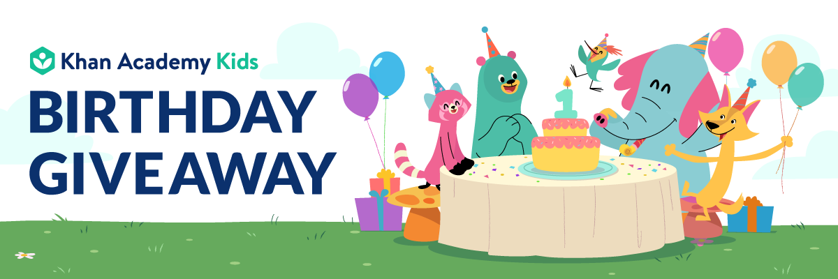 Khan Academy Kids Birthday Giveaway   Daily Kids Deals
