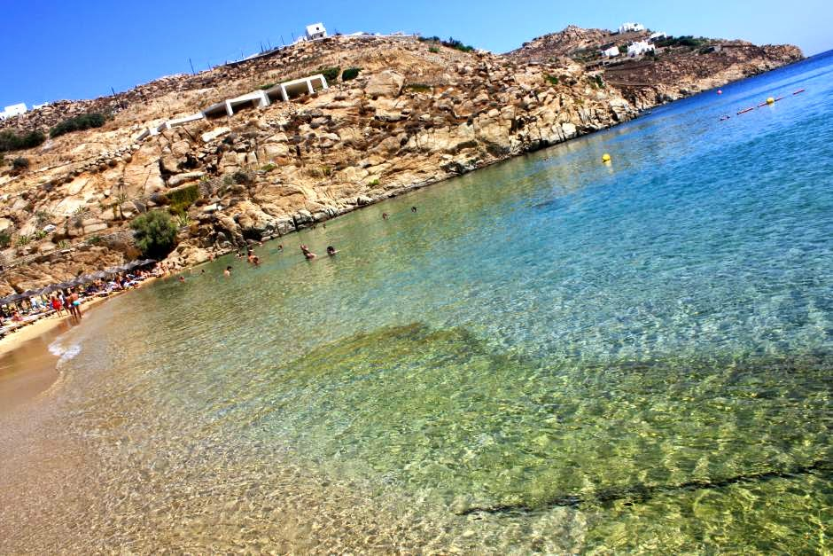 Superparadise Beach in Mykonos