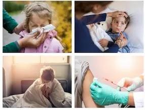 نزلة برد لدى الأطفال