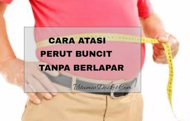 cara atasi perut buncit