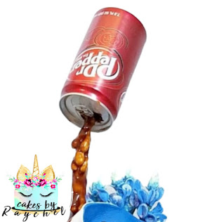 How to Pour Dr Pepper Over a Cake