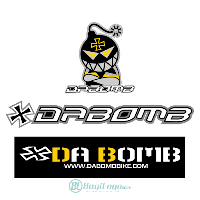 DaBomb Bike Logo Vector