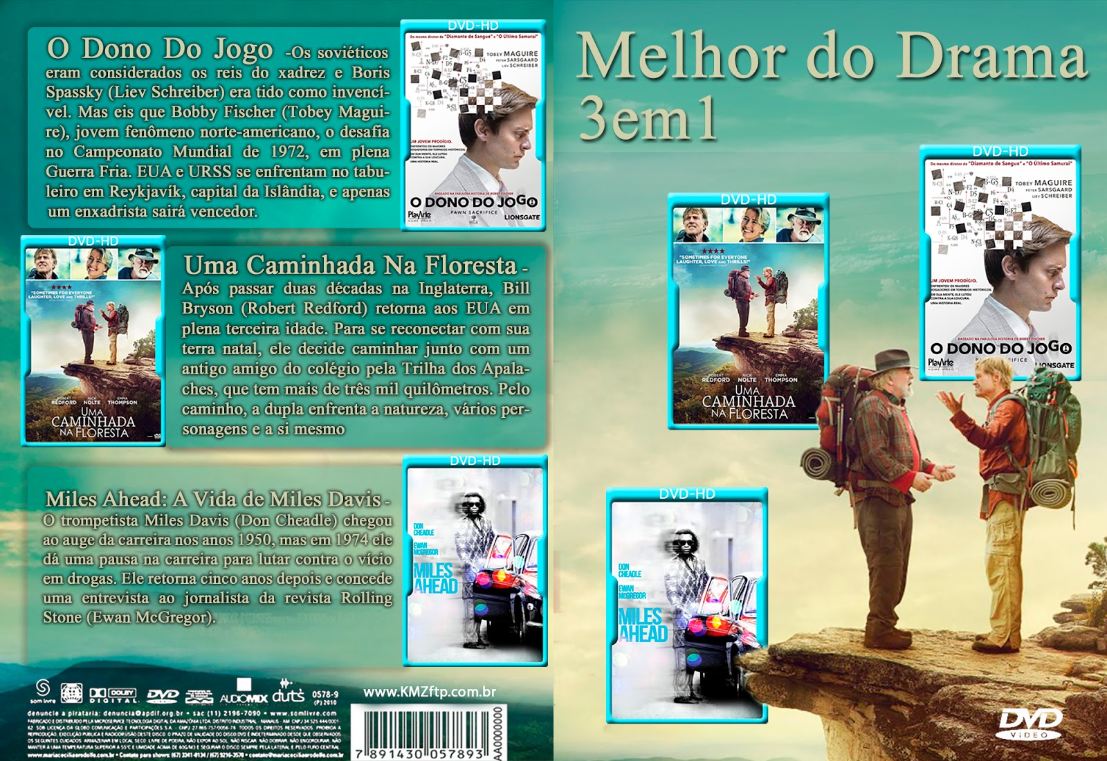 O Melhor Do Drama 3x1 DVD-R Super MelhorDoDrama3em1