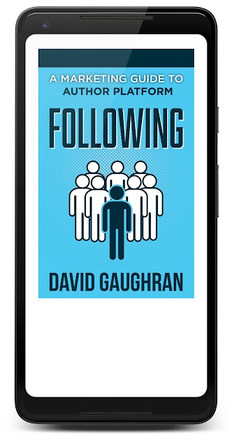 David Gaughran's Following ebook in Google Play Books on a Pixel 2 XL phone