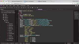 PHP for Beginners 2020 Part 2: PDO, MySQL, phpMyAdmin