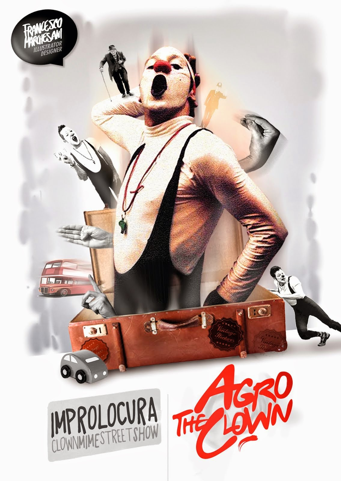 Agro The Clown - Italia - ImproLocura