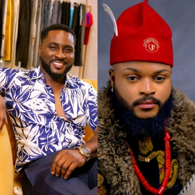 BBNaija 2021: Pere Claims He Is Beginning To Like Whitemoney, After They Had A Bromance Last Night