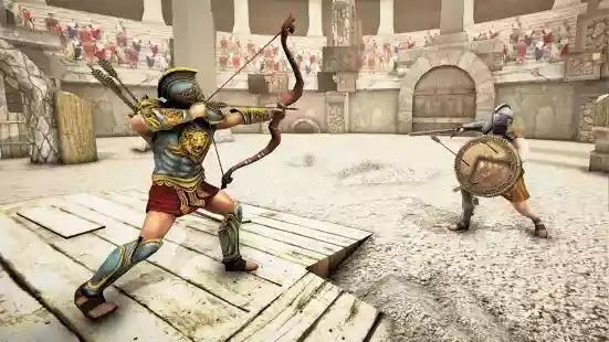 يمكنك الاستمتاع دائمًا بمعارك المصارع المليئة بالحركة والاستراتيجية في Gladiator Glory