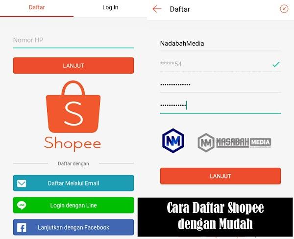 Cara Daftar Shopee Untuk Berbelanja Online Lewat Hp