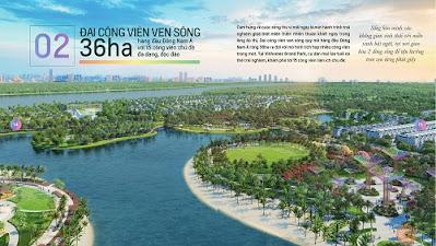 Đại công viên phức hợp hàng đầu Đông Nam Á Vinhomes Grand Park