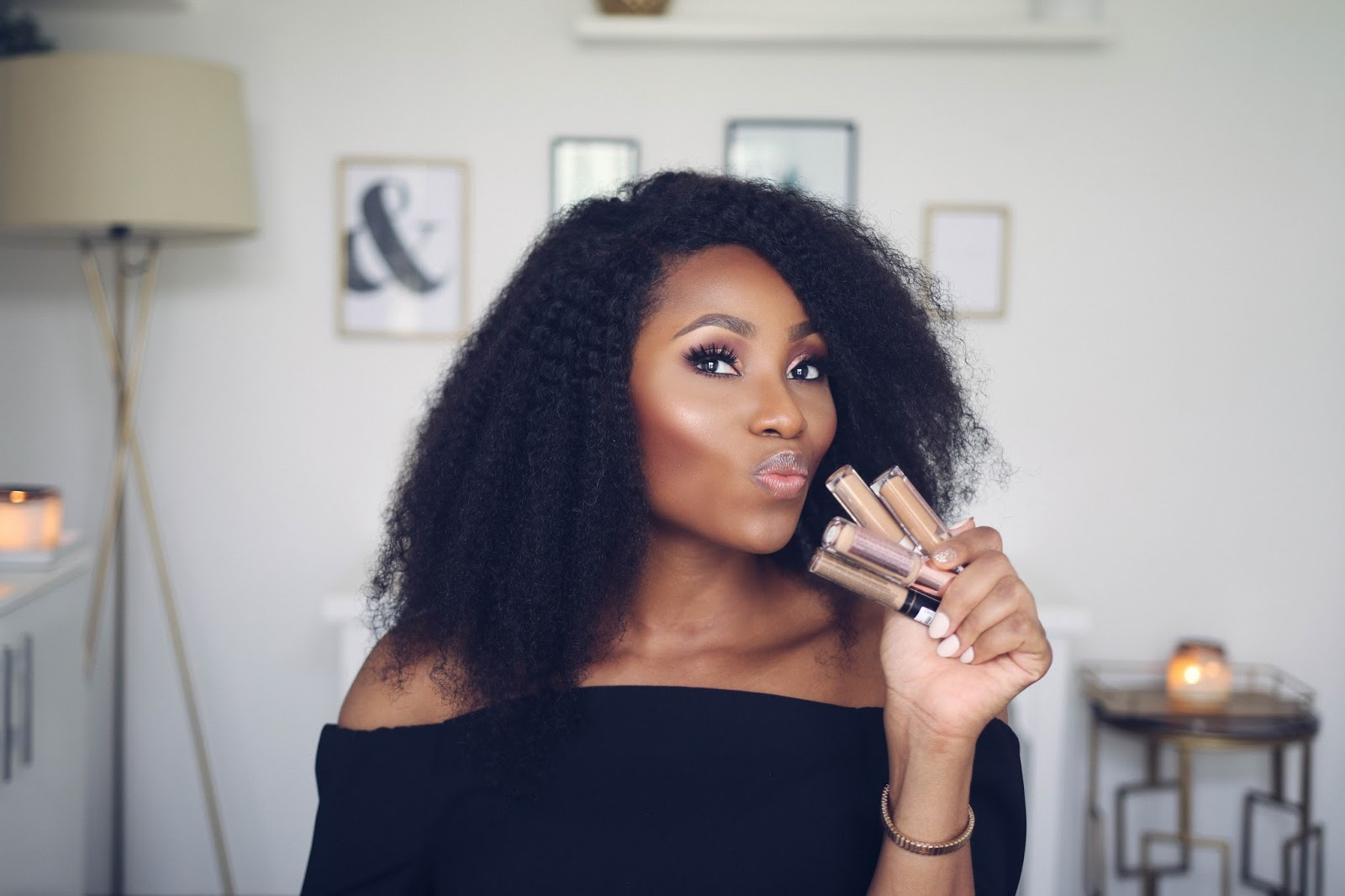 Dimma Umeh Says These Are The Top 5 Highlighters For Dark
