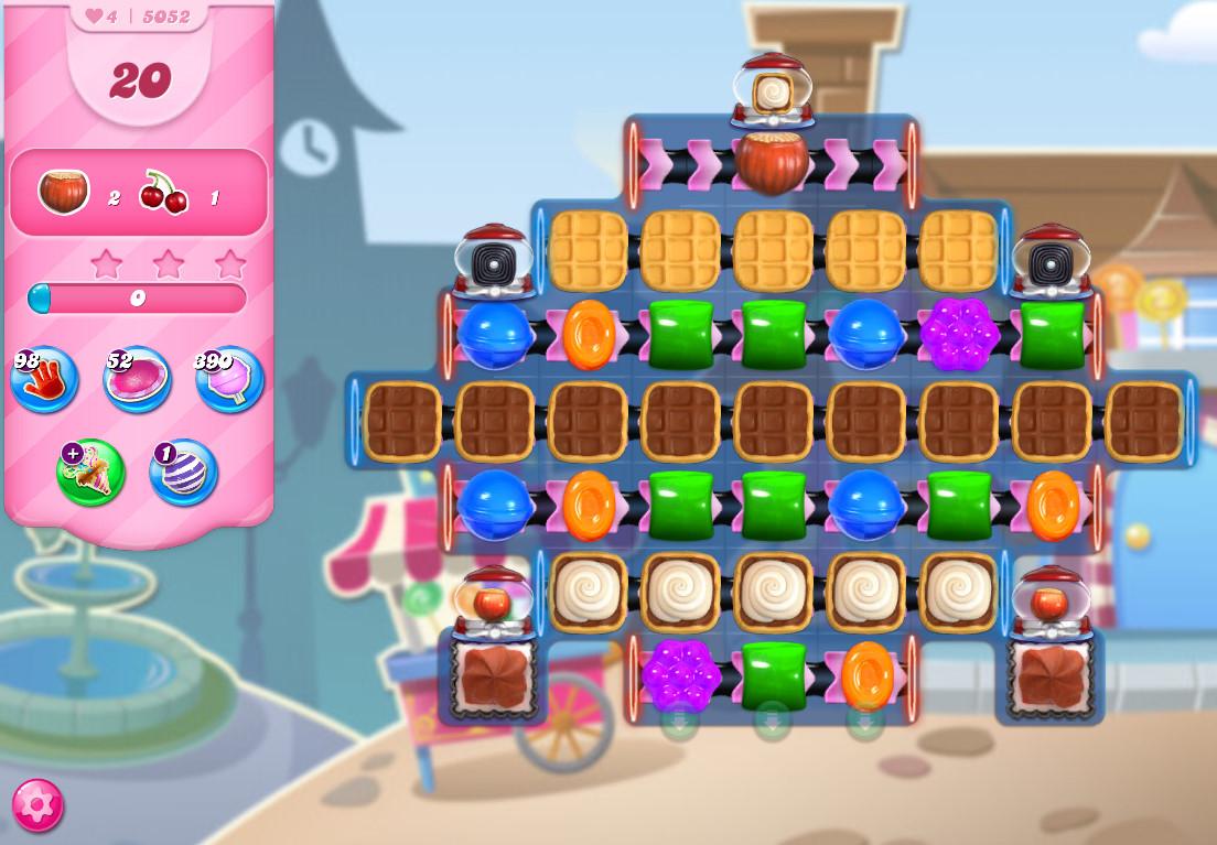 Candy Crush Saga level 5052
