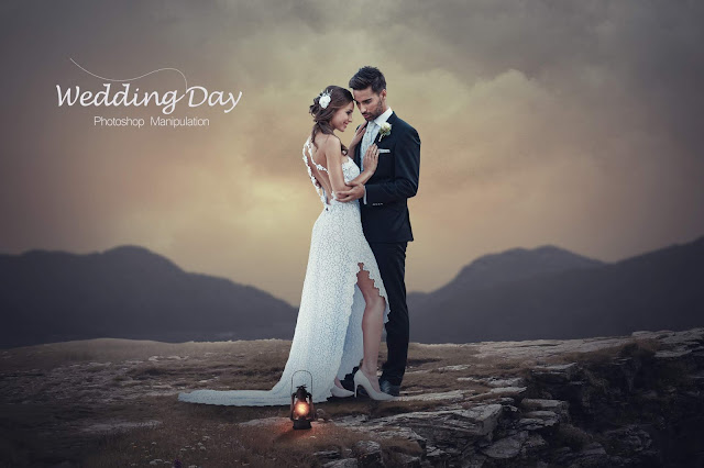 Wedding Day - Photoshop Manipulation Tutorial - Photo Editing