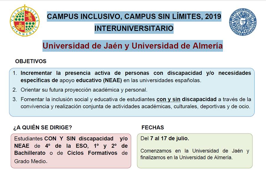 Fejidif Al Dia Campus Inclusivos Campus Sin Límites 7 Al