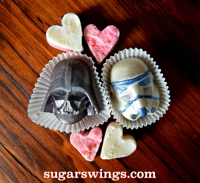 Star Wars Valentines chocolates