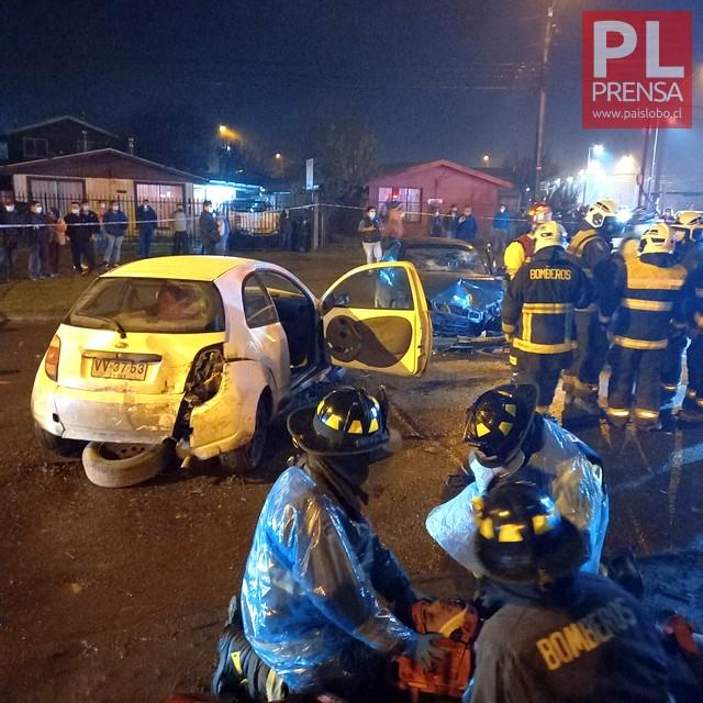 Osorno: Accidente vehicular deja 3 lesionados
