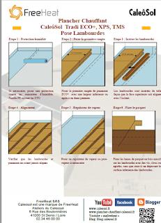 Plancher Chauffant Caleosol Tradi - Pose Lambourdes