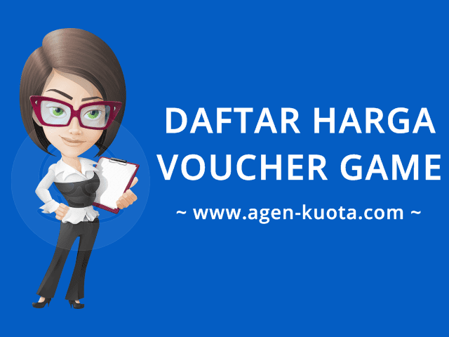 Daftar Harga Voucher Game Online Murah Agen-Kuota.com