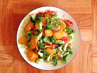 Resep Masakan Ibu Hamil - Ca Brokoli Wortel Bumil