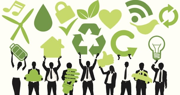 ways business go green company sustainability eco-friendly startup