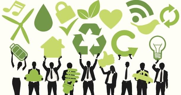 ways business go green company sustainability eco-friendly startup