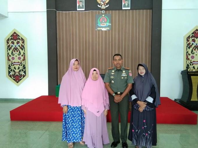 Kepedulian Kodim 0913/PPU terhadap Warakawuri Pada Peringati HUT TNI Ke-74