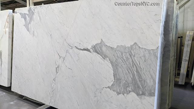 Statuario Select marble slabs NYC