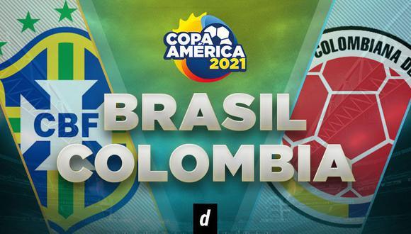 Colombia vs. Brasil EN VIVO  por LA Copa América