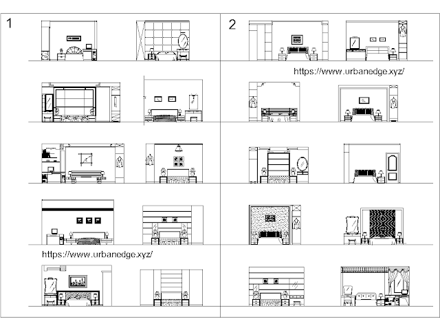 Bedroom furniture bed cad blocks - 20+ CAD Block free download