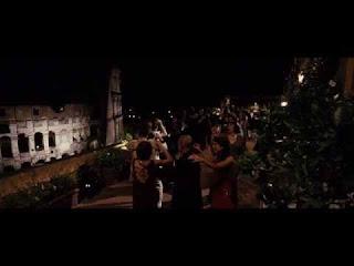 The Great Beauty, Movie Scenes Terrace overlooking Via Venetto, Rome La Grande Bellezza, Terrazza scene cinematografiche con vista su Via Venetto, Roma